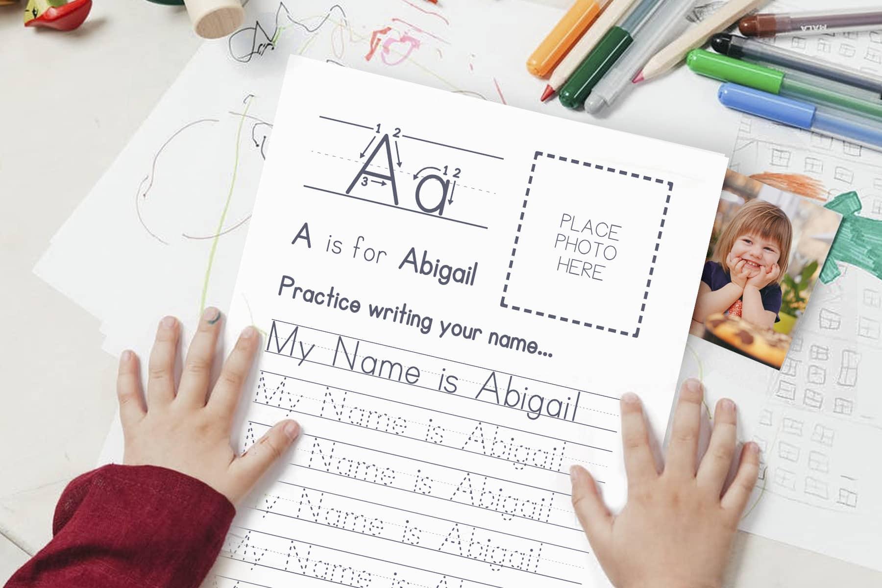 Free Resource for Teaching Handwriting Print